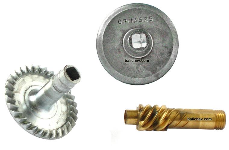 Shimano 07 Ultegra Advance gears