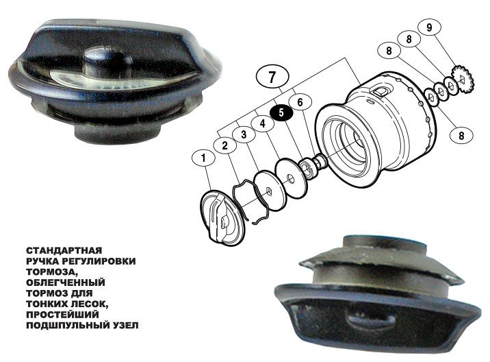 shimano 07 ultegra advance drag knob
