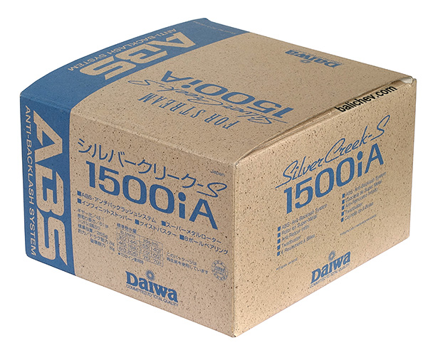 daiwa silver creek-s 1500 коробка