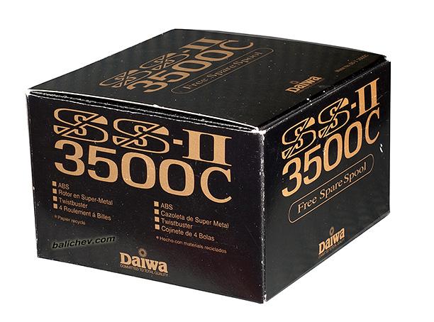 daiwa ss ii 3500c коробка box
