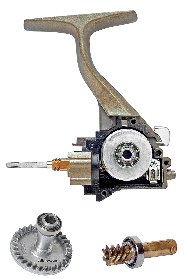 daiwa silver creek-s 1500ia передача gears