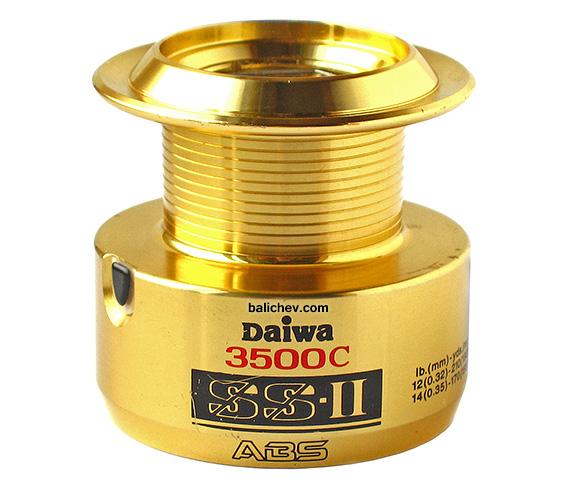 daiwa ss ii 3500c шпуля