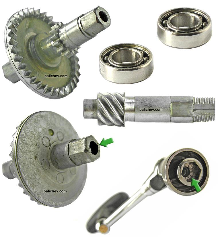 daiwa 09 crest gears