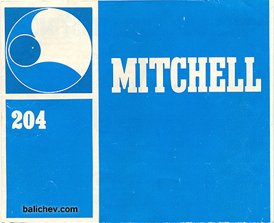 mitchell 204 booklet