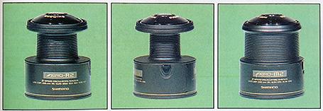 shimano aero spools