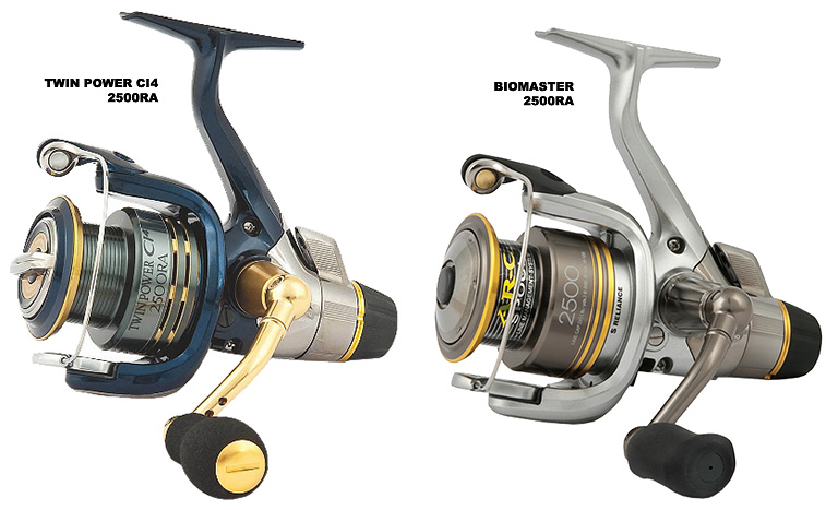 Shimano Twin Power CI4 RA & Biomaster RA