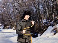 Юрий Петрович Баличев на льду