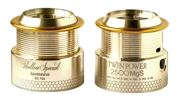 shimano 00 twin power mgs spools