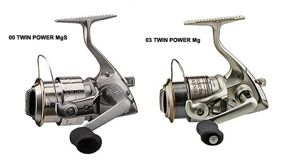 shimano 00 twin power mgs vs 03 twin power mg
