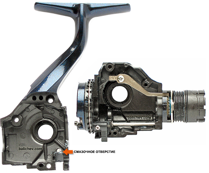 Shimano Twin Power CI4 4000SRA корпус