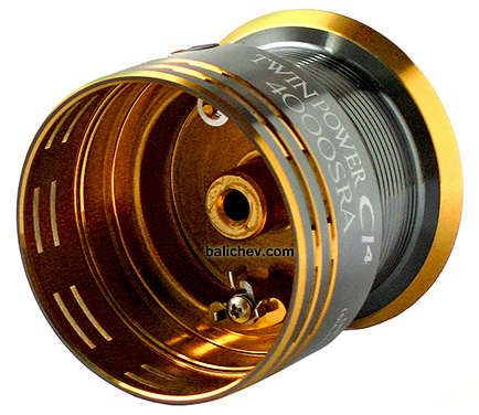 Shimano Twin Power CI4 4000SRA spool