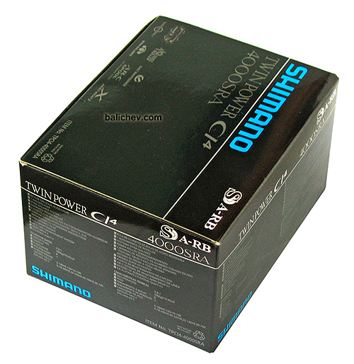 Shimano Twin Power CI4 4000SRA коробка