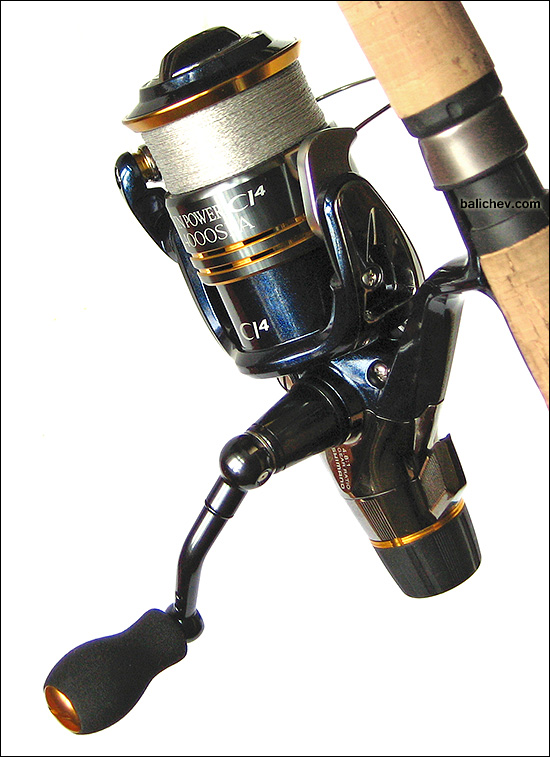 Shimano Twin Power CI4 4000SRA намотка