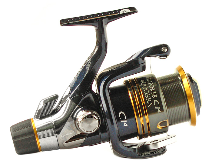 Shimano Twin Power CI4 4000SRA вид справа