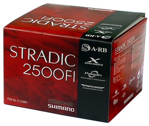 shimano stradic 2500fi box