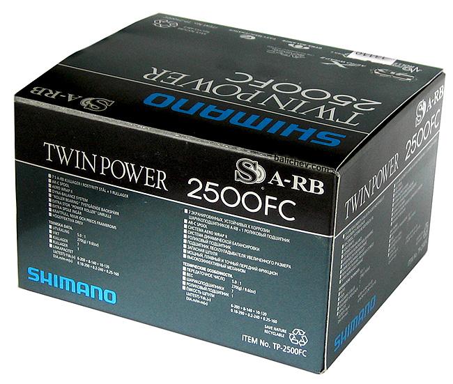 shimano twin power fc box