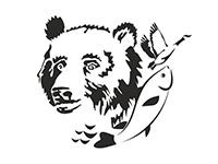 эксподизайновский медведь
